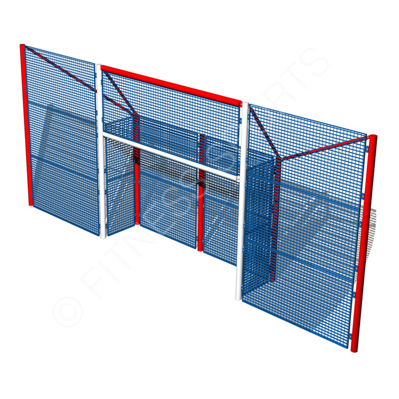 Enclosed Senior MUGA Goalpost