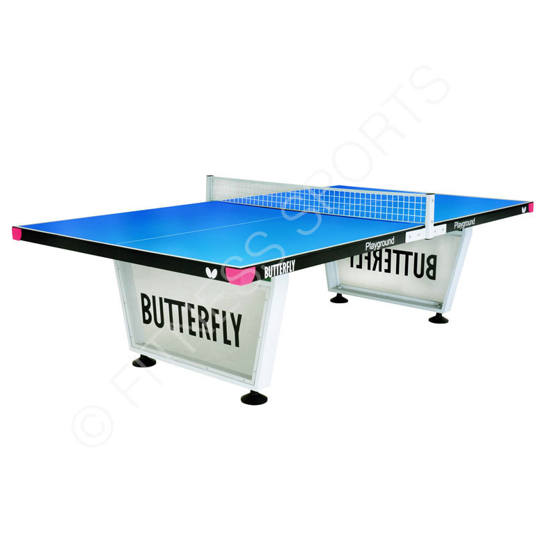 Butterfly playground steel outdoor anti vandal table tennis table fitness sports equipment - Butterfly tennis de table ...