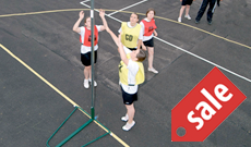 Light portable netball posts