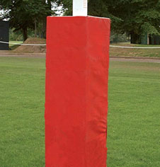 Rugby safety post padding