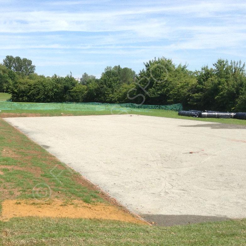 Warwick University Cricket Net Area