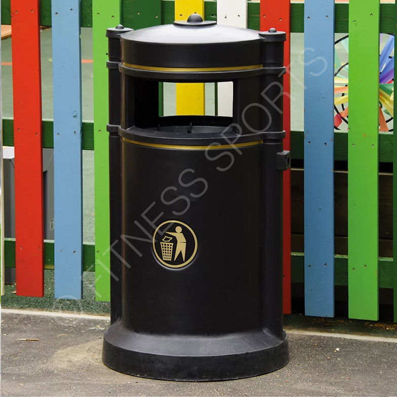Pvc Parks Amp Ground Public Litter Bin Fitness Sports