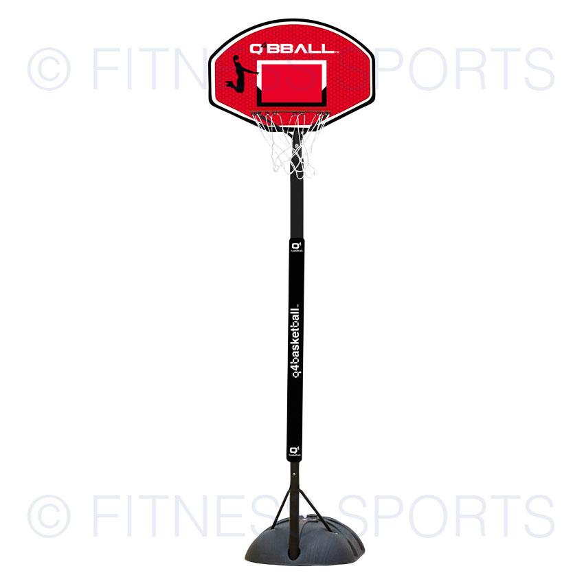 online store aa1eb ca789 Q4 Xplode Junior Portable Freestanding Basketball Goal Post Net Hoop ...