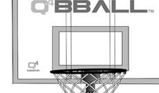 Q4 Attack junior portable 6-8ft basketball net system.