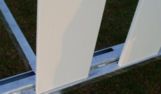 Standard size fitting replacement sight screen slats.