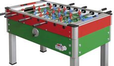 Roberto New Camp indoor coin operated table football.