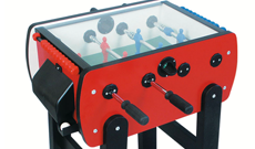 Roberto Roby Colour indoor junior glass top table football.