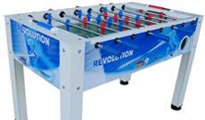 Roberto Revolution indoor free play table football.