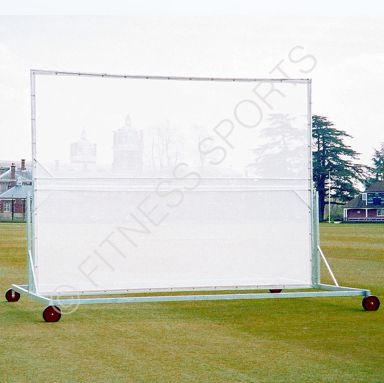 Portable Screen On Rollers : Wheeled canvas cricket sight screen fitness sports equipment