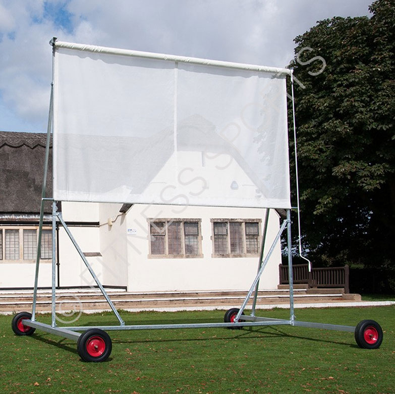 Roller Canvas Sight Screen 4m x 4m
