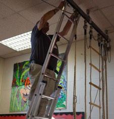 PE Rope Climbing Apparatus