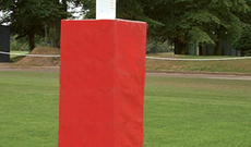 PVC padded professional safety rugby post padding.