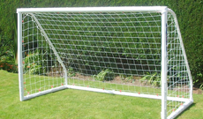 Single multi sized PVC pop up freestanding goals.