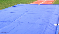 PVC Long Jump Pit Cover