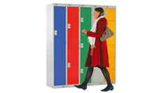 School Cloakroom Lockers
