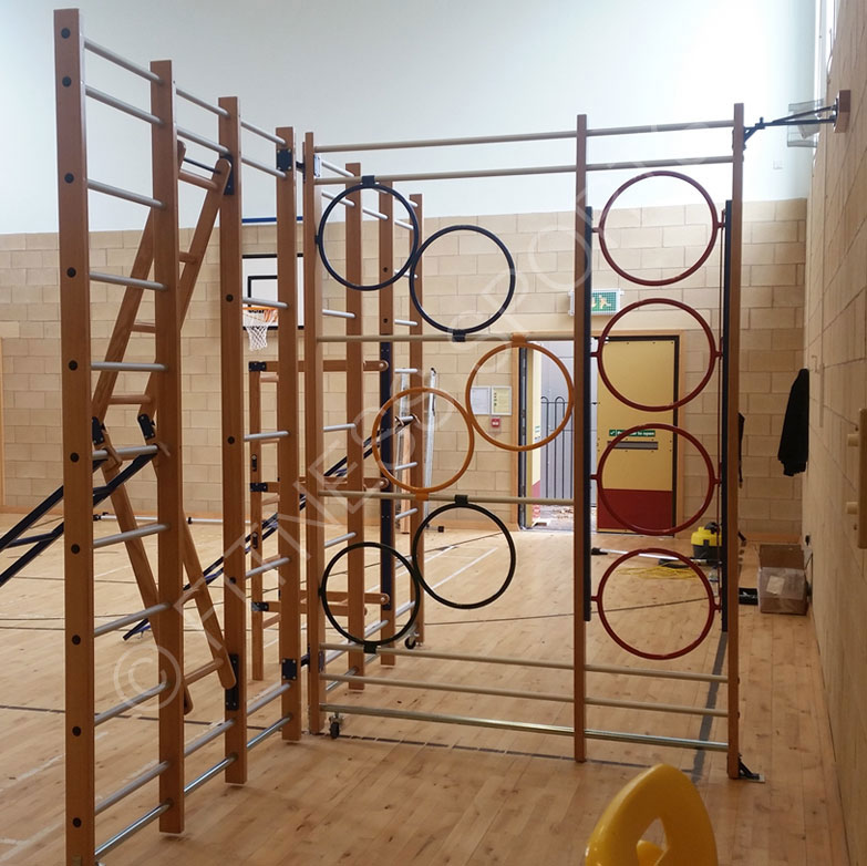 Installation Of Sports Academy Exercise Hall Pe Equipment