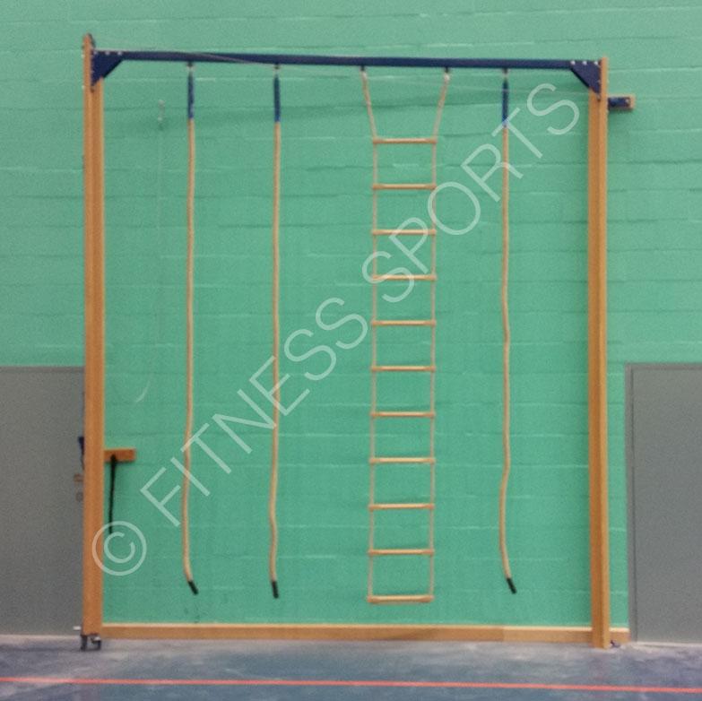 St Bonaventure School Climbing Rope Frame Installation