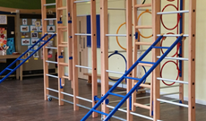 Headcorn Primary School Wall Mounted Gymnasium PE & Activity Frame Installation
