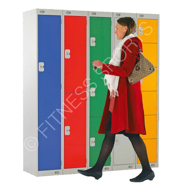 School Cloakroom Lockers 1800mm