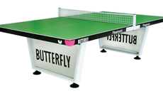 Butterfly Schools outdoor table tennis table.