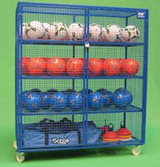 Ball storage equipment