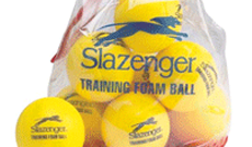 Slazenger pack of foam tennis balls.