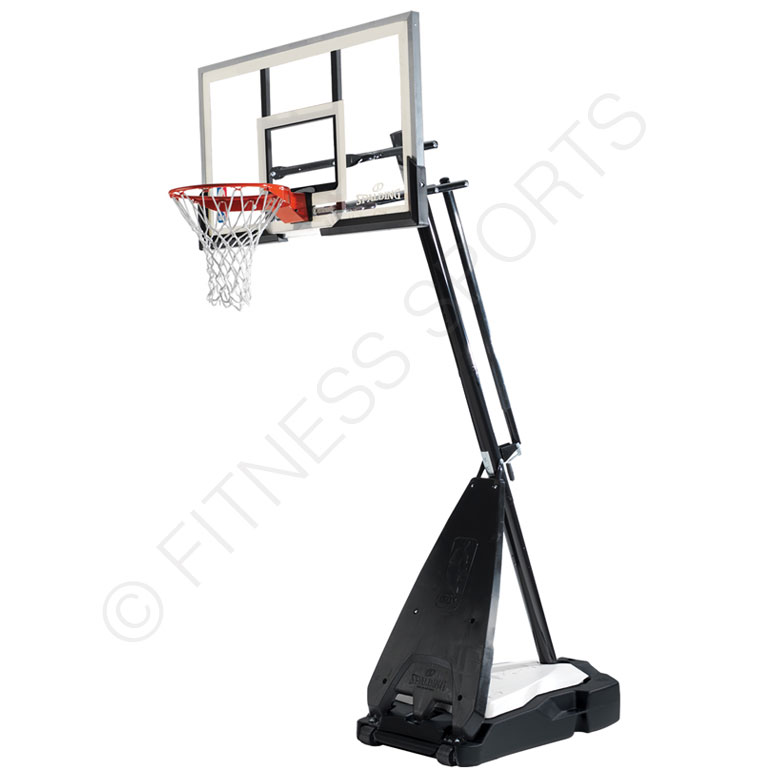 Goal Platinum: Spalding Platinum Helixi Portable Basketball Goal Post