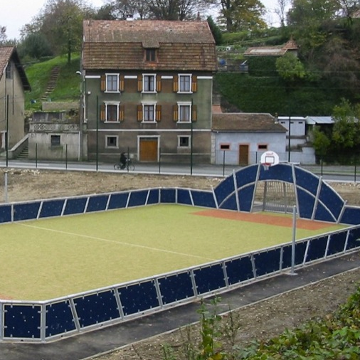 Outdoor playground sports arena