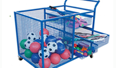 Open Ball Storage Trolley
