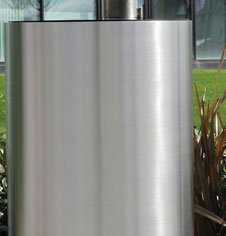 Stainless Steel Litter Bins