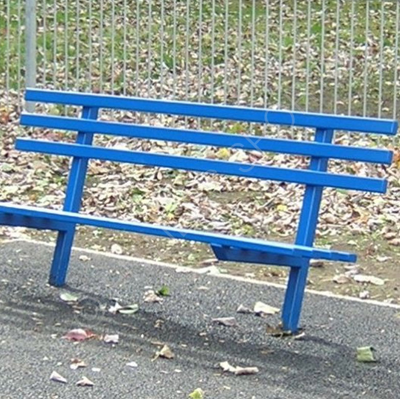 Anti Vandal Steel Park Bench