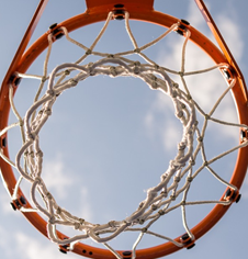 Wall Mounted Basketball Net Hoop Rings