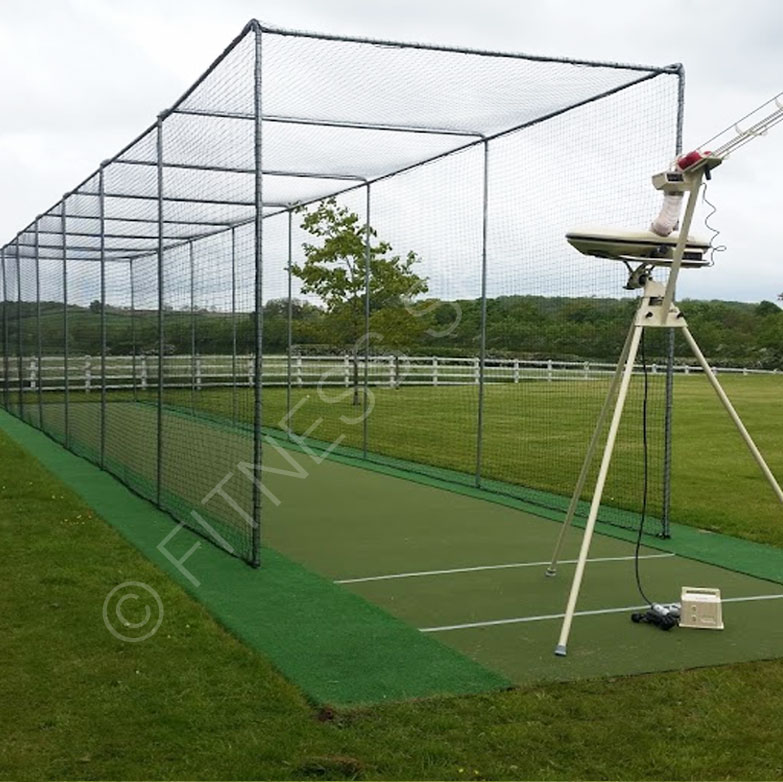 Socketed In Ground Cricket Net Cage