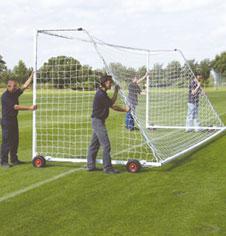 7.32m x 2.44m Freestanding Steel Goals