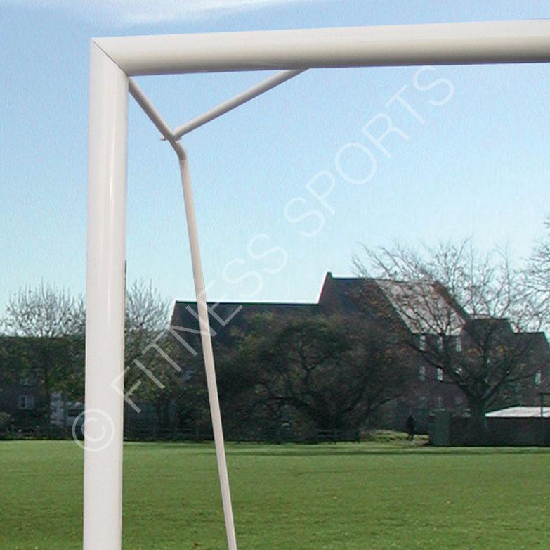 Freestanding Steel Match Goalposts
