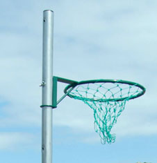Aluminium Socketed Netball Posts