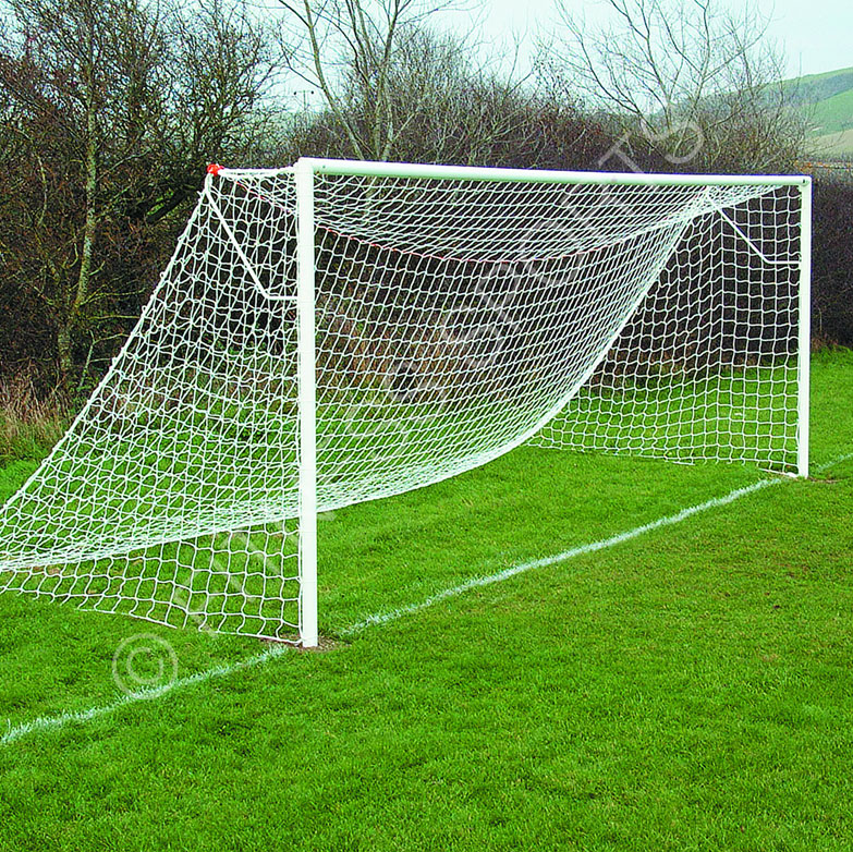 Socketed Steel Football Goalposts