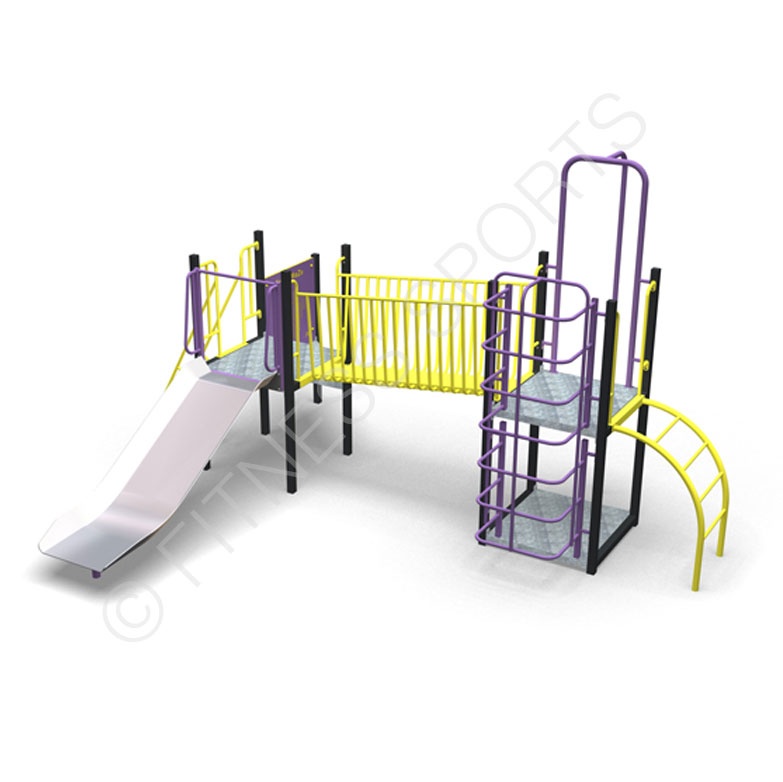 Steel Parks Outdoor Climbing & Recreational Combination Play Equipment | Fitness Sports Equipment