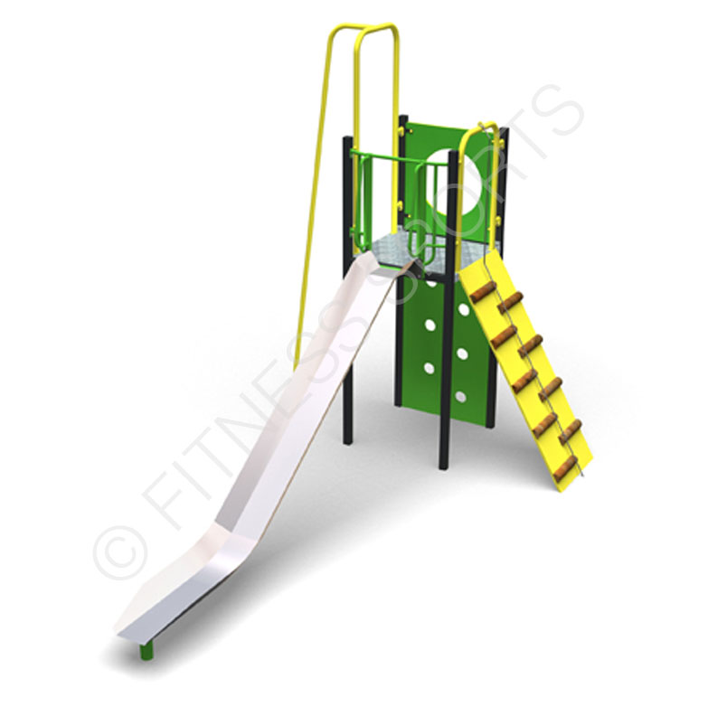 Outdoor Playpark Climbing & Play Slide Equipment Supply & Installation Service | Fitness Sports Equipment