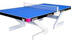 Butterfly Anti vandal outdoor table tennis table.