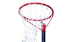 Sure Shot 501 fixed netball post goals.