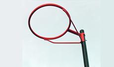 Sure Shot 502 portable netball post goals.