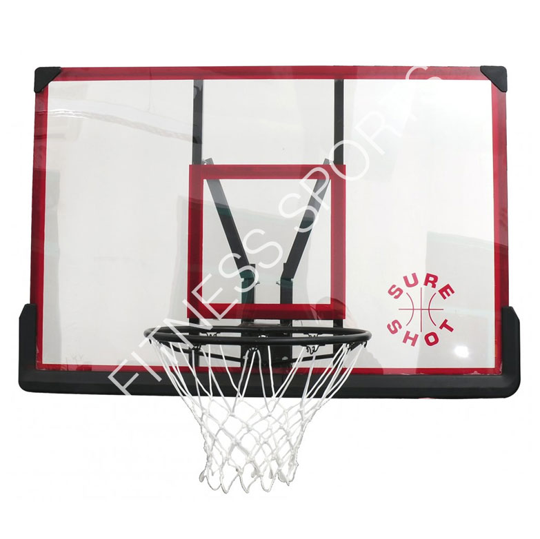 506 Acrylic Wall Mounted Hoops