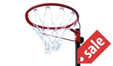 Sure Shot 802 portable netball post goals.