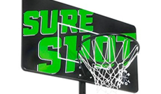 Sure Shot 516 portable 8-10ft basketball system.