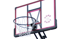 Sure Shot Pro Adjust 8-10ft basketball goal system.