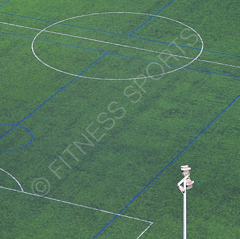 Artificial synthetic pitch installation