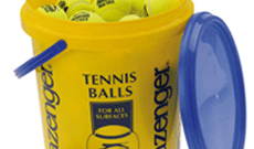 Slazenger club x 96 tennis ball bucket.