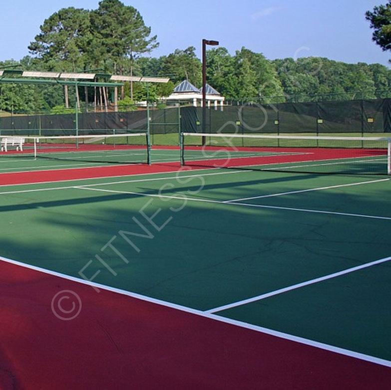 Artificial Tennis Grass Surface. Tennis Court Resurfacing