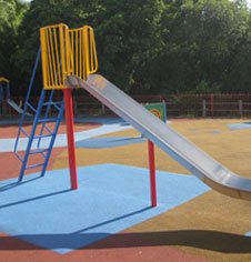 Traditional playground equipment